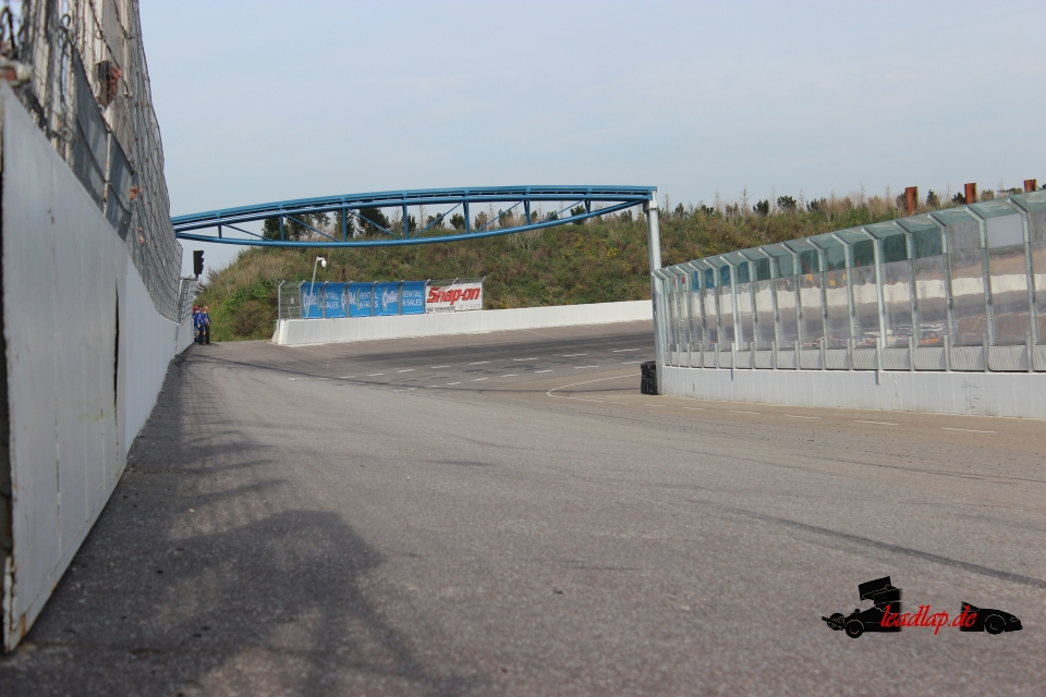 Raceway Venray bau der Brücke André Wiegold