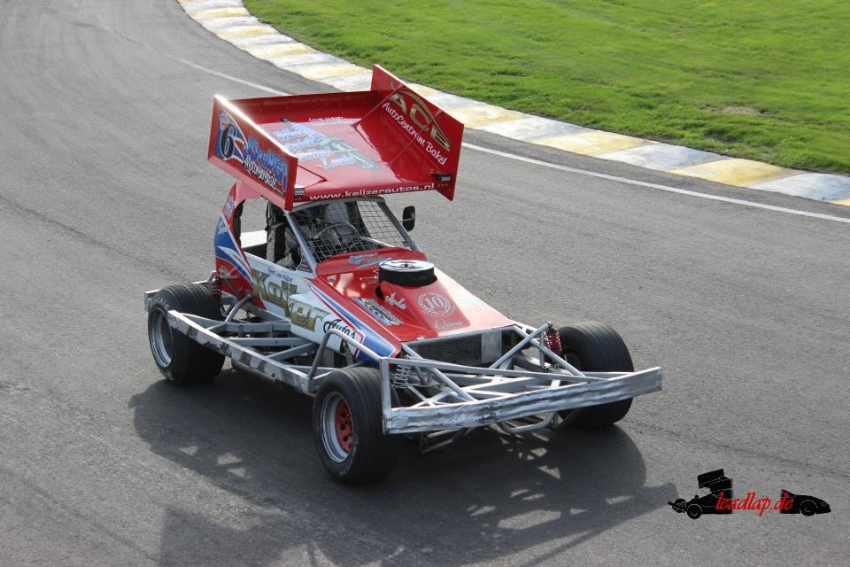 Geert-Jan Keijzer in den Stockcar F1 André Wiegold