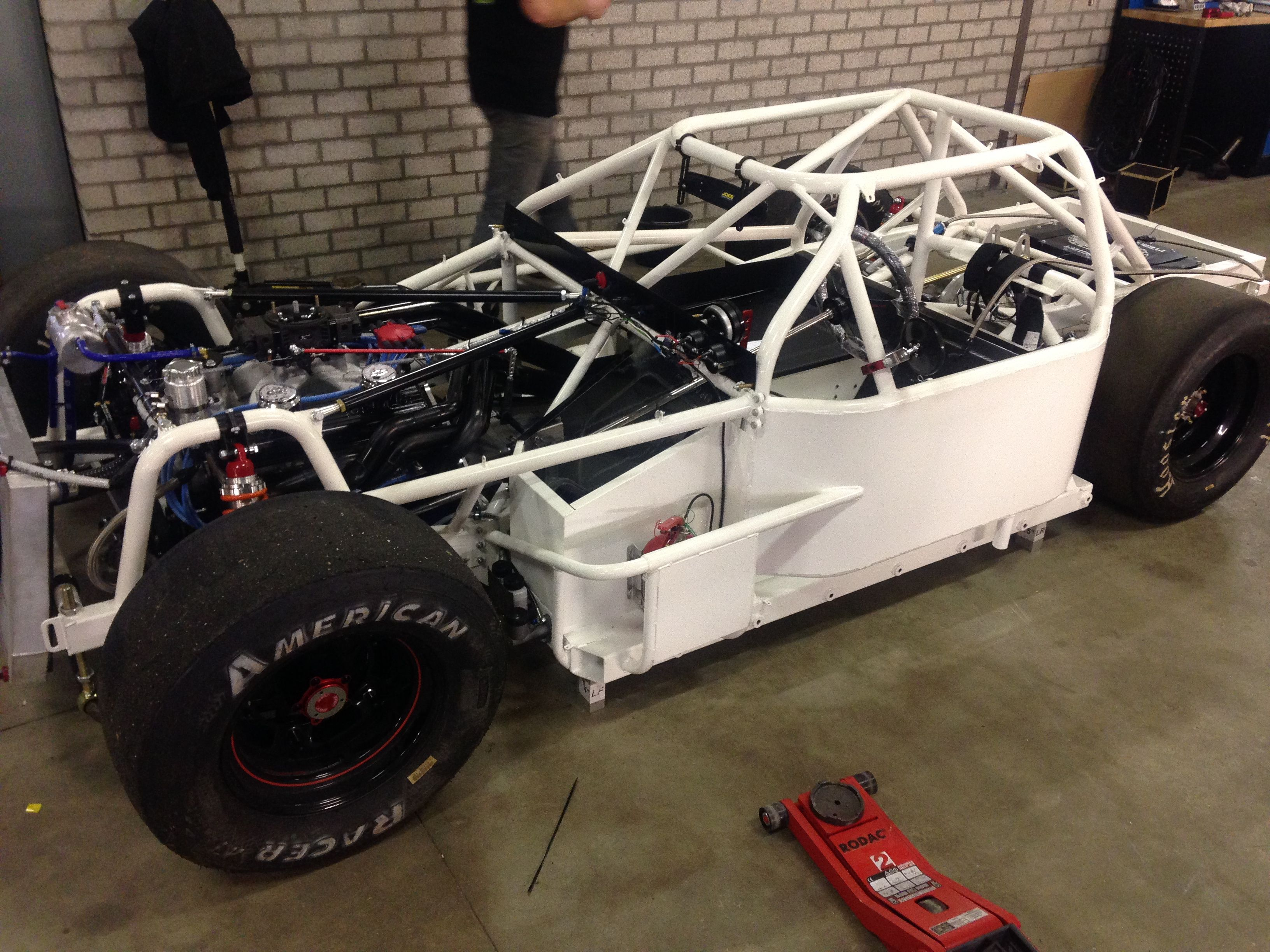 Bald fertig: Hendriks Motorsport Service baut Patrick´s neuen Late Model (Lefthander Chassi) © Patrick Heckhausen