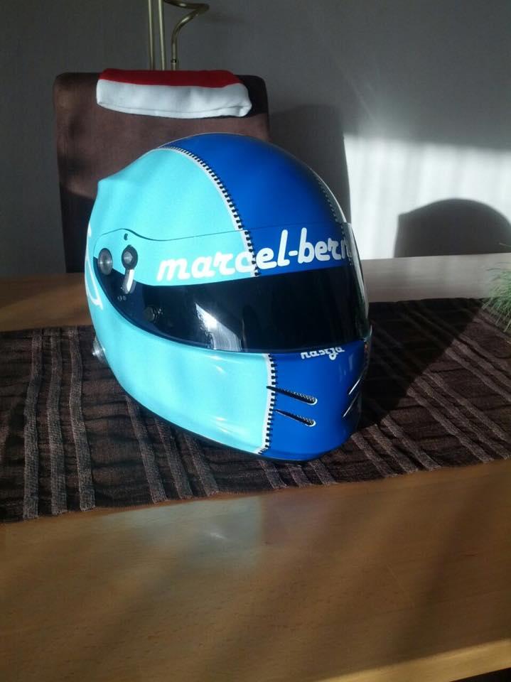 Der neue Helm darf nicht fehlen! © Marcel Berndt
