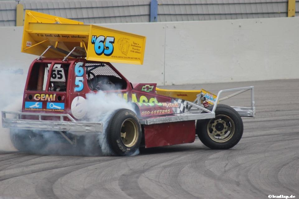 Hans Baegen auf dem Raceway Venray © André Wiegold