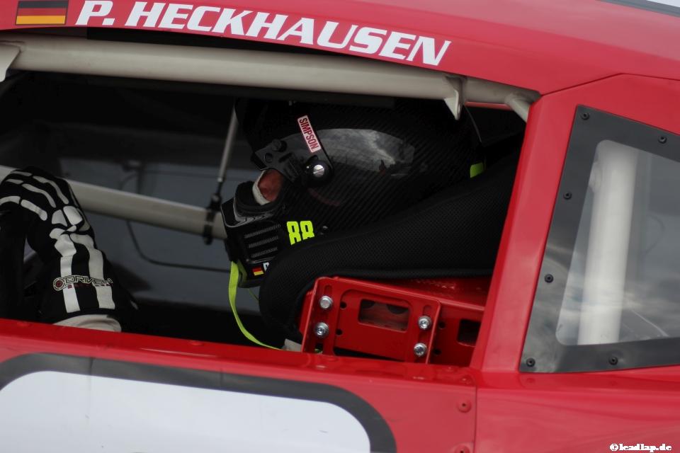 Patrick konzentriert im Rennwagen © André Wiegold