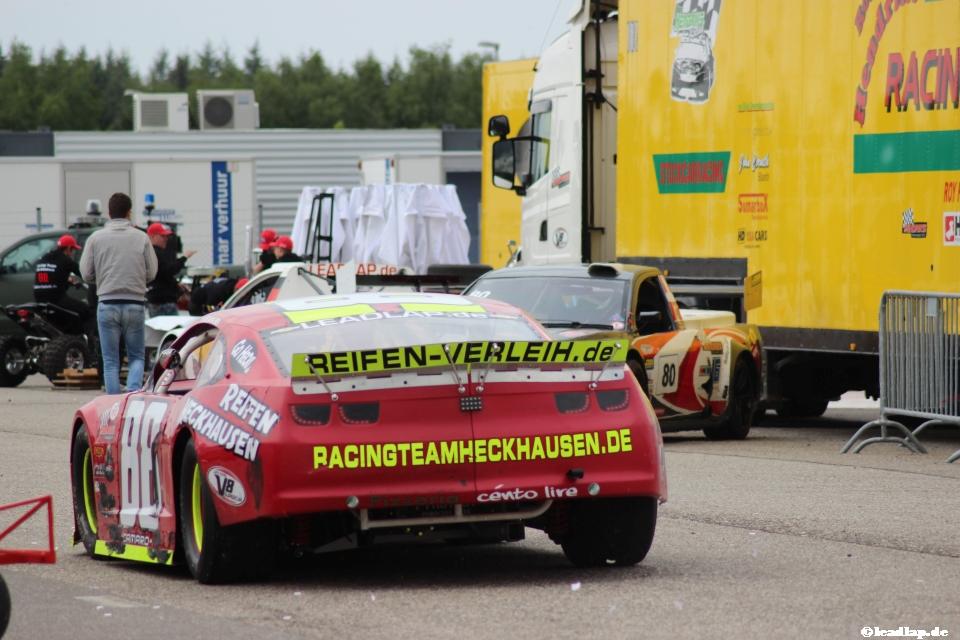 Patrick auf dem Weg zurück ins Fahrerlager © André Wiegold