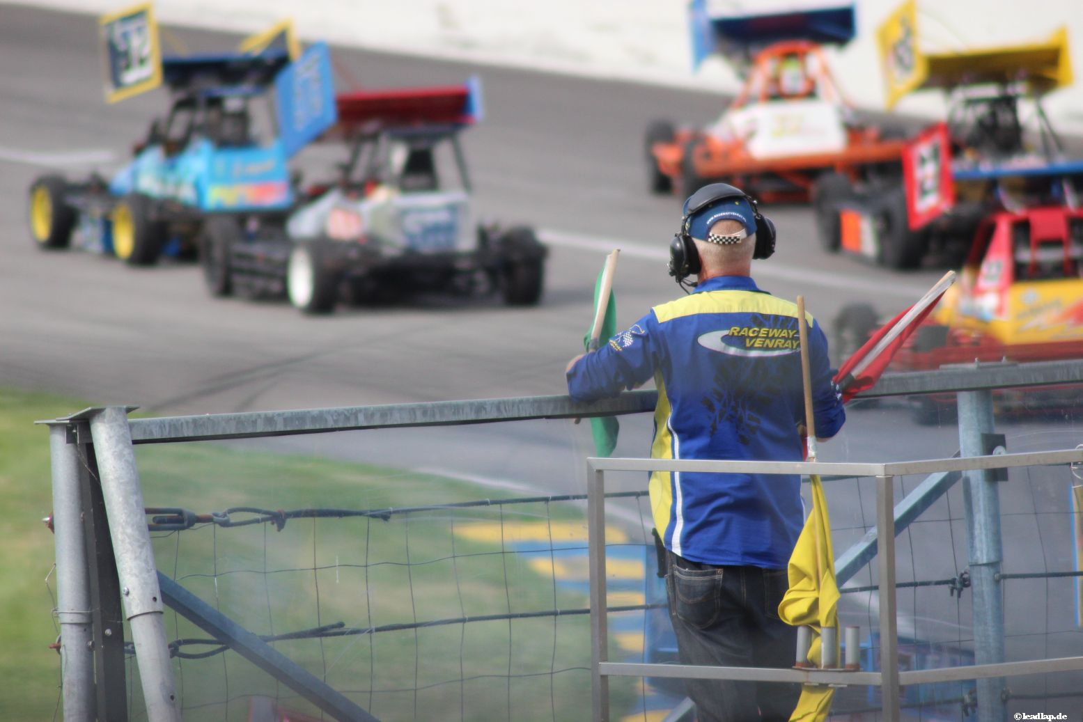Marshall auf dem Raceway Venray © André Wiegold