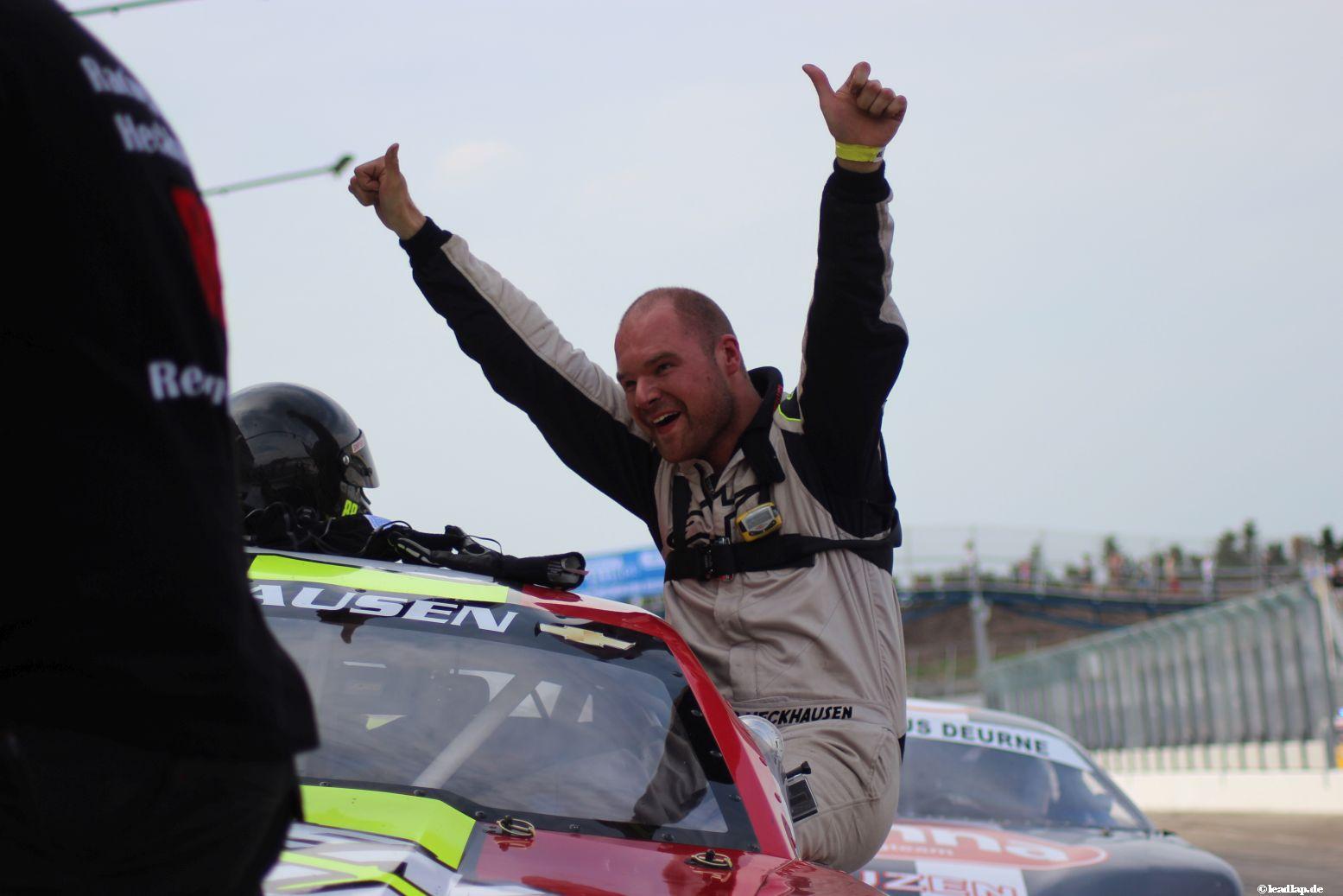 Heckhausen bejubelt seinen ersten Sieg! © André Wiegold