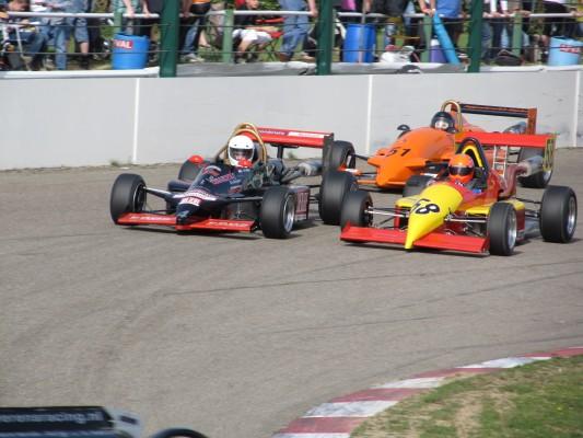 In Formelwagen wird um die PAC Troffee gekämpft! © André Wiegold