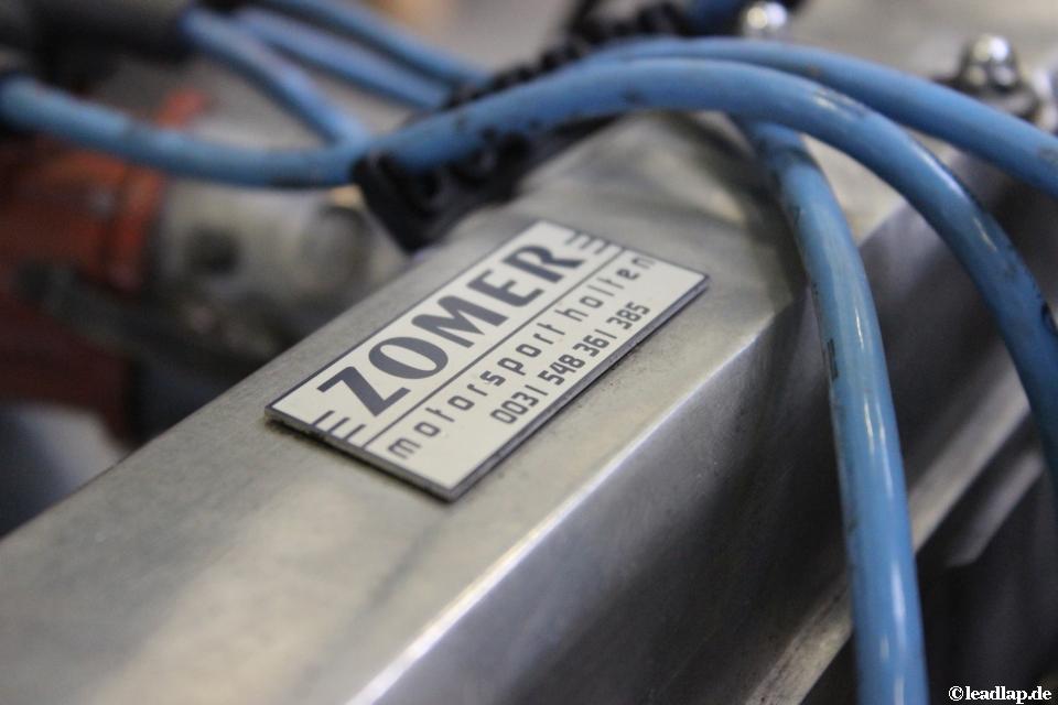Der Motor, der im Formel Toyota von Philipp Bachor verbaut ist © André Wiegold