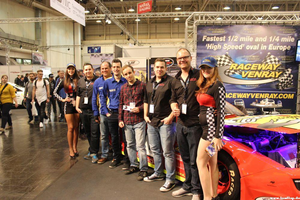 Das Team promotet den Raceway Venray! © André Wiegold