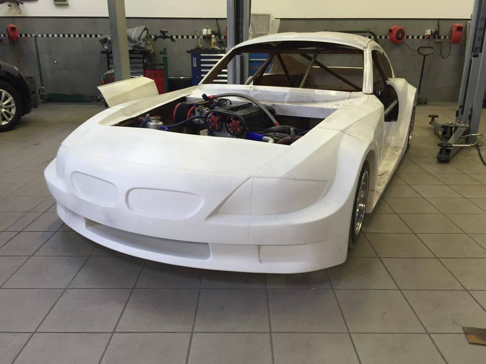 Der neue Hotrod im Aufbau © Guido Wagner