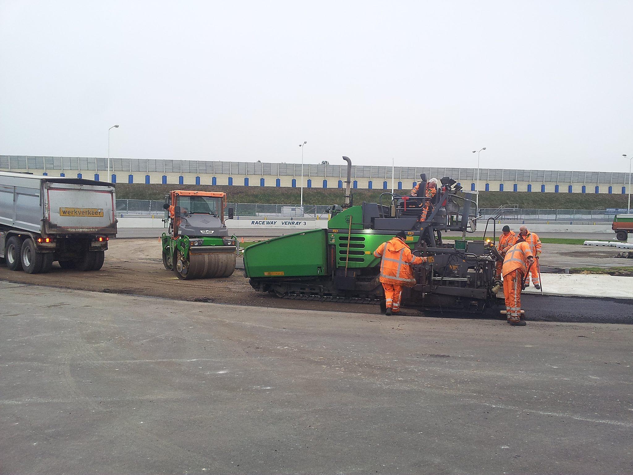 Die Bahn wird in 2016 deutlich kürzer! © Raceway Venray