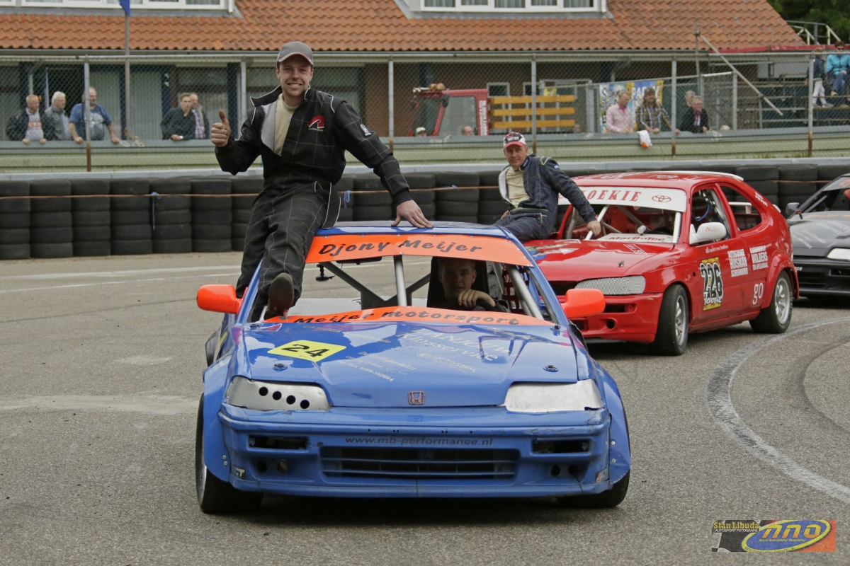 Djony Meijer und sein Honda! © Stan Libuda (ovalrace.com)