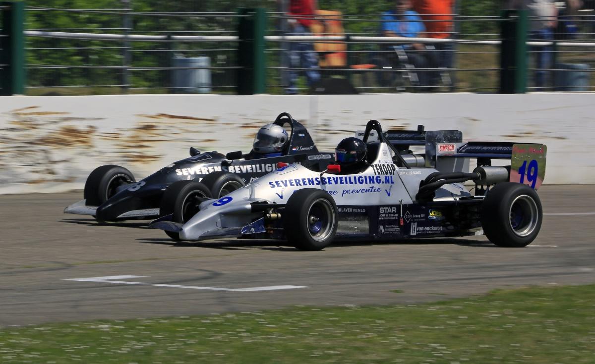Formel-Fahrzeuge auf niederländischen Oval: Die Formel Toyota! © Stan Libuda (Ovalrace.com/Stan Libuda Autospeedwayfotografie)